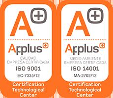 Certificaciones ISO 9001 y 14001