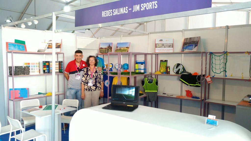 Stand Salon Internacional du Sport et des Losirs
