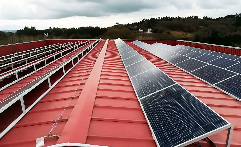 Tejado placas solares